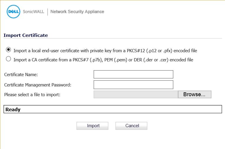 import-certificate